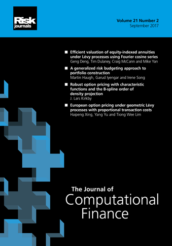 Journal of Computational Finance