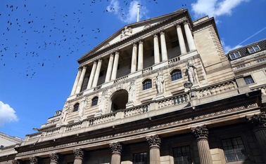 Bank of England blue sky