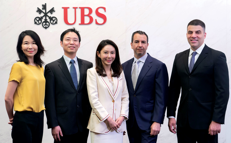 The UBS team