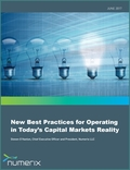 New Best Practices for Operating in Today's Capital Markets Reality